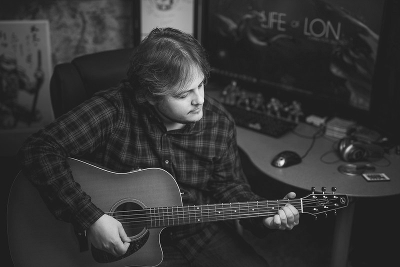 I picked up the guitar at age 28 and started writing music. In 2014, I began going in studio and working with the very talented Dave Nelson. I wrote and sang, he produced, and we made music together. Spending a year and a half every week in studio taught me about what goes into making good music- and it's done a lot to prepare me for working on other projects that need a musical component.  Special thanks to the fantastic musical and production talents of Dave Nelson at   Alley Cat Recording  as well as Sal Palacios and Svilen Stoicheff who provided amazing guitar on  Lon's Ballad  and  Put the Molotov Down.