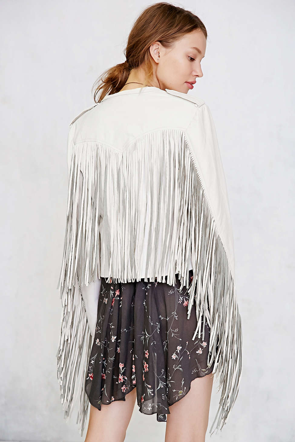 Somedays Lovin Fringe Jacket // Cotton >> $179 - 30%