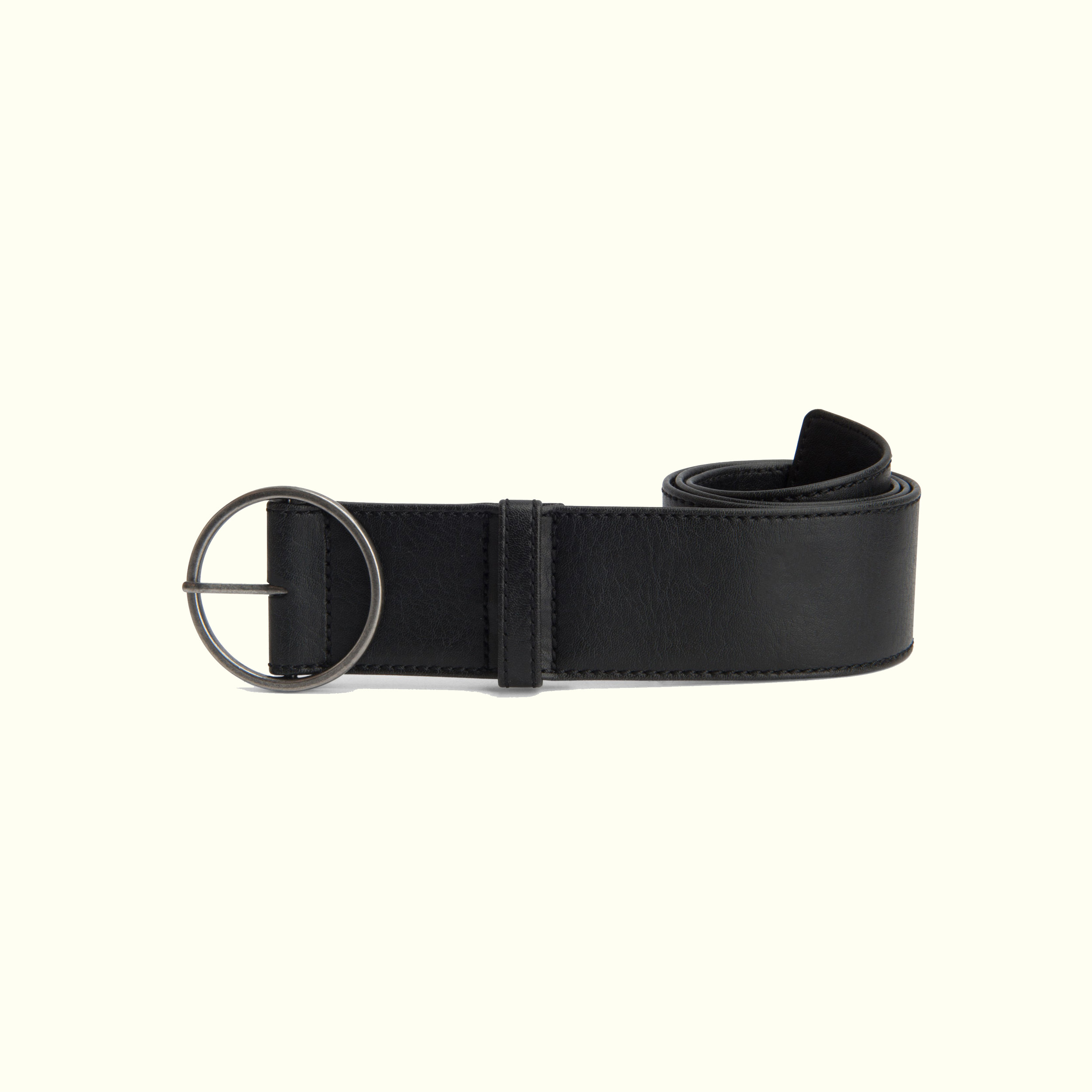 Matt & Nat - At $45, Matt & Nat's Ora belt is chic and minimalist with a retro flair.With a two-inch width, it's made to sit low on your waist and also comes in other colors, if you must.
