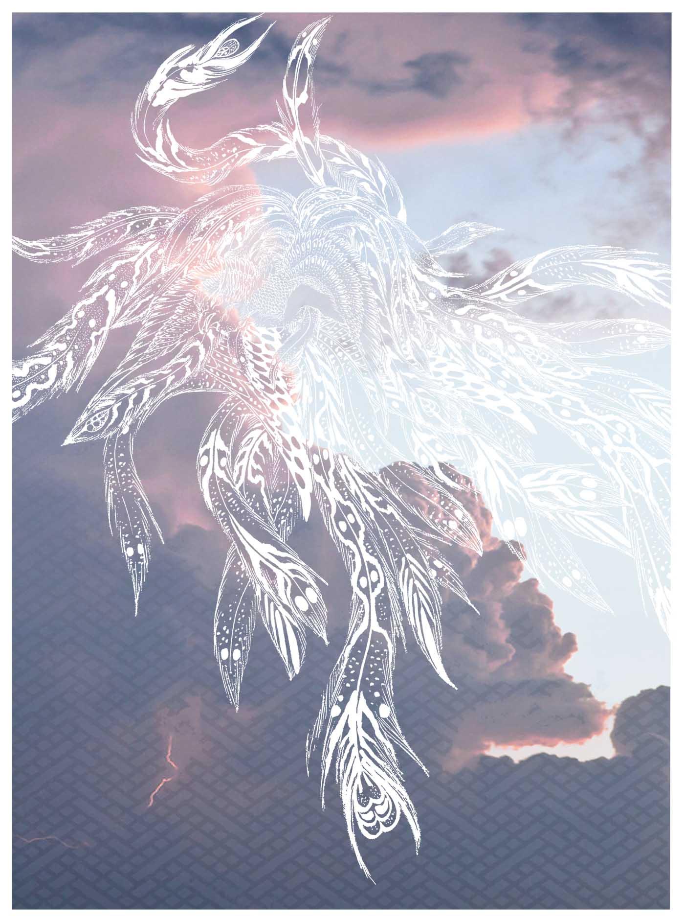 Phoenix Cloud Print - Horiyoshi The Third X Bella Gomez