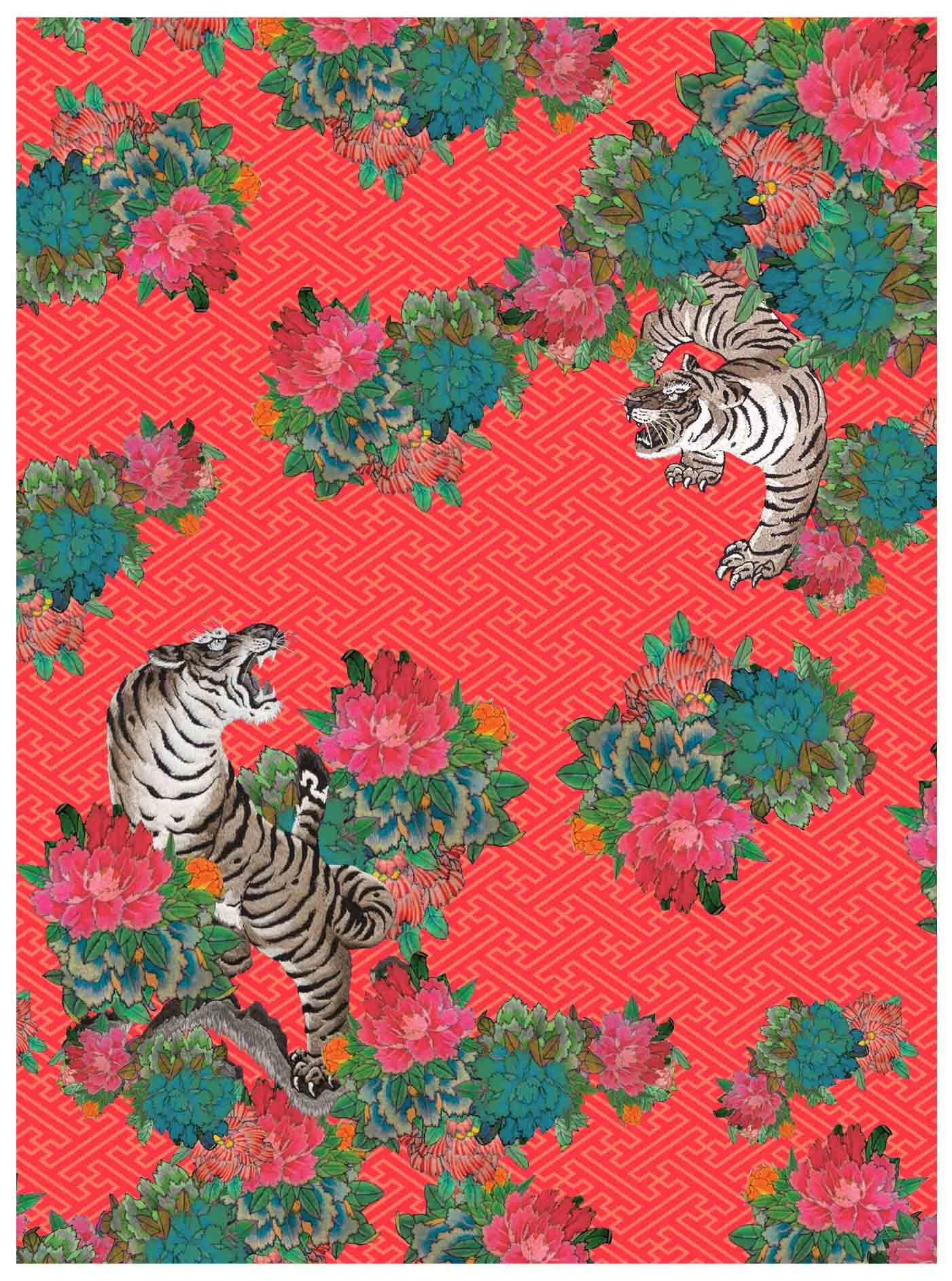 Botan Jungle Print - Horiyoshi The Third X Bella Gomez