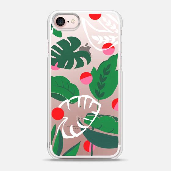 Tropical Spot Casetify // Bella Gomez