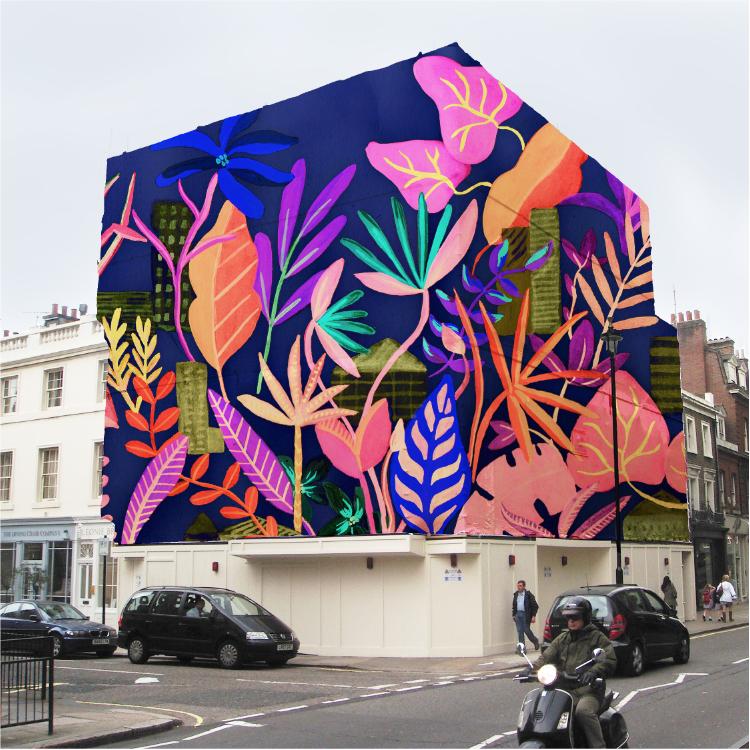 Building wrap // Bella Gomez