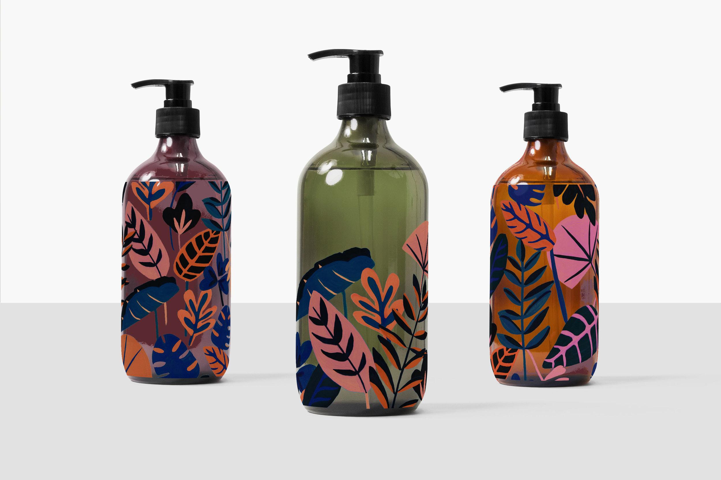 Azure Print-Packaging // Bella Gomez