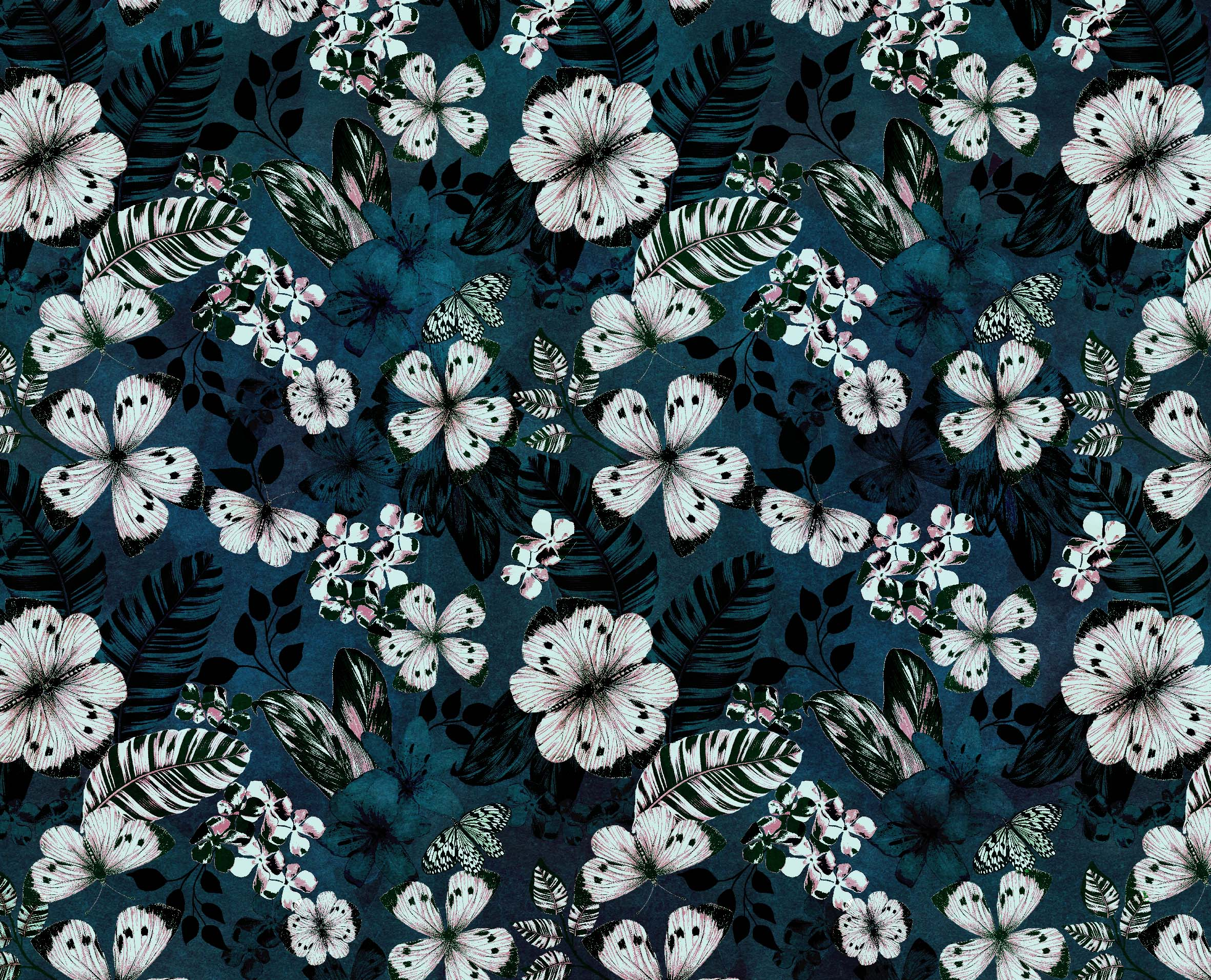 Botanical Print - Stradivarius // Bella Gomez