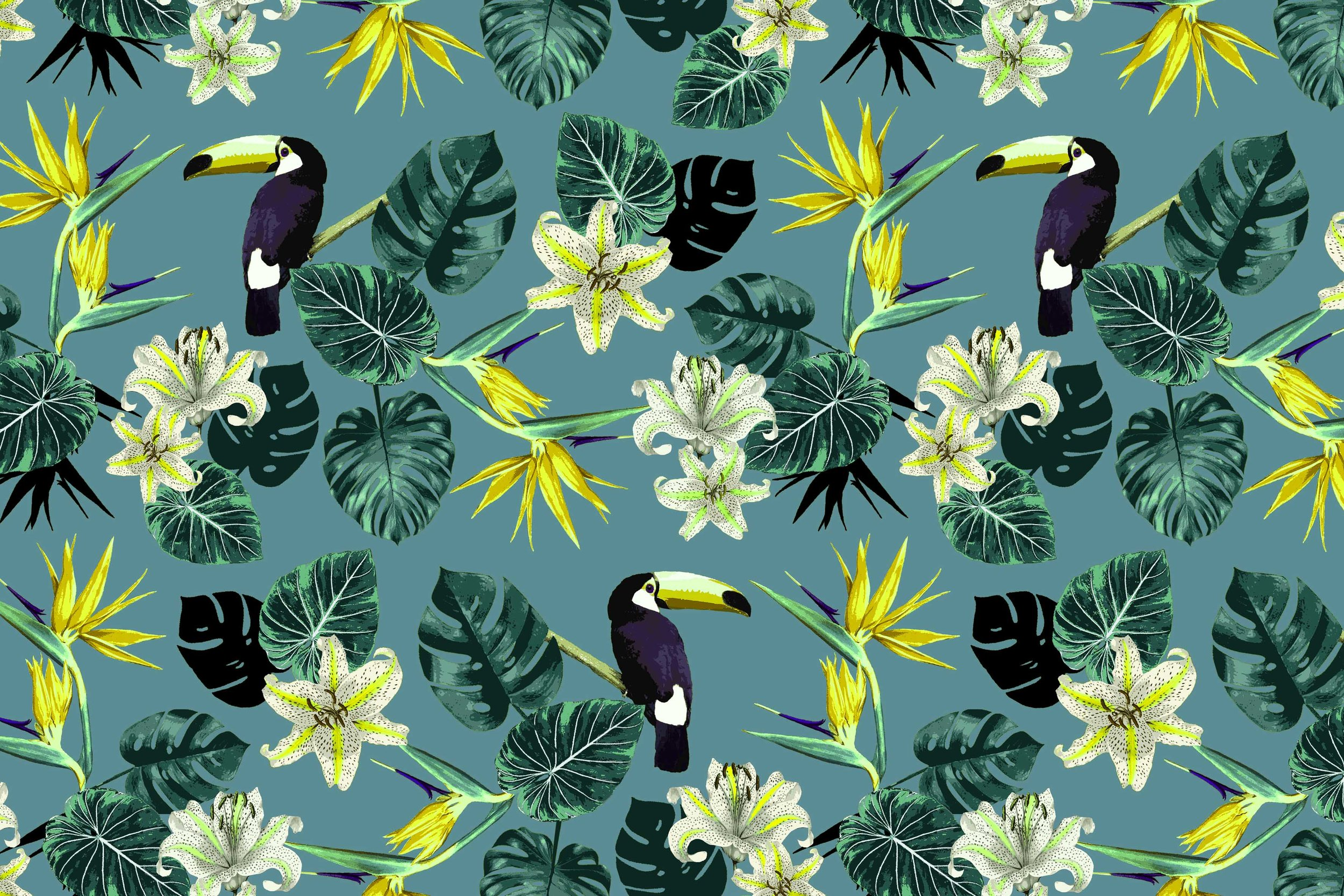 Tropical Toucans - New Look // Bella Gomez