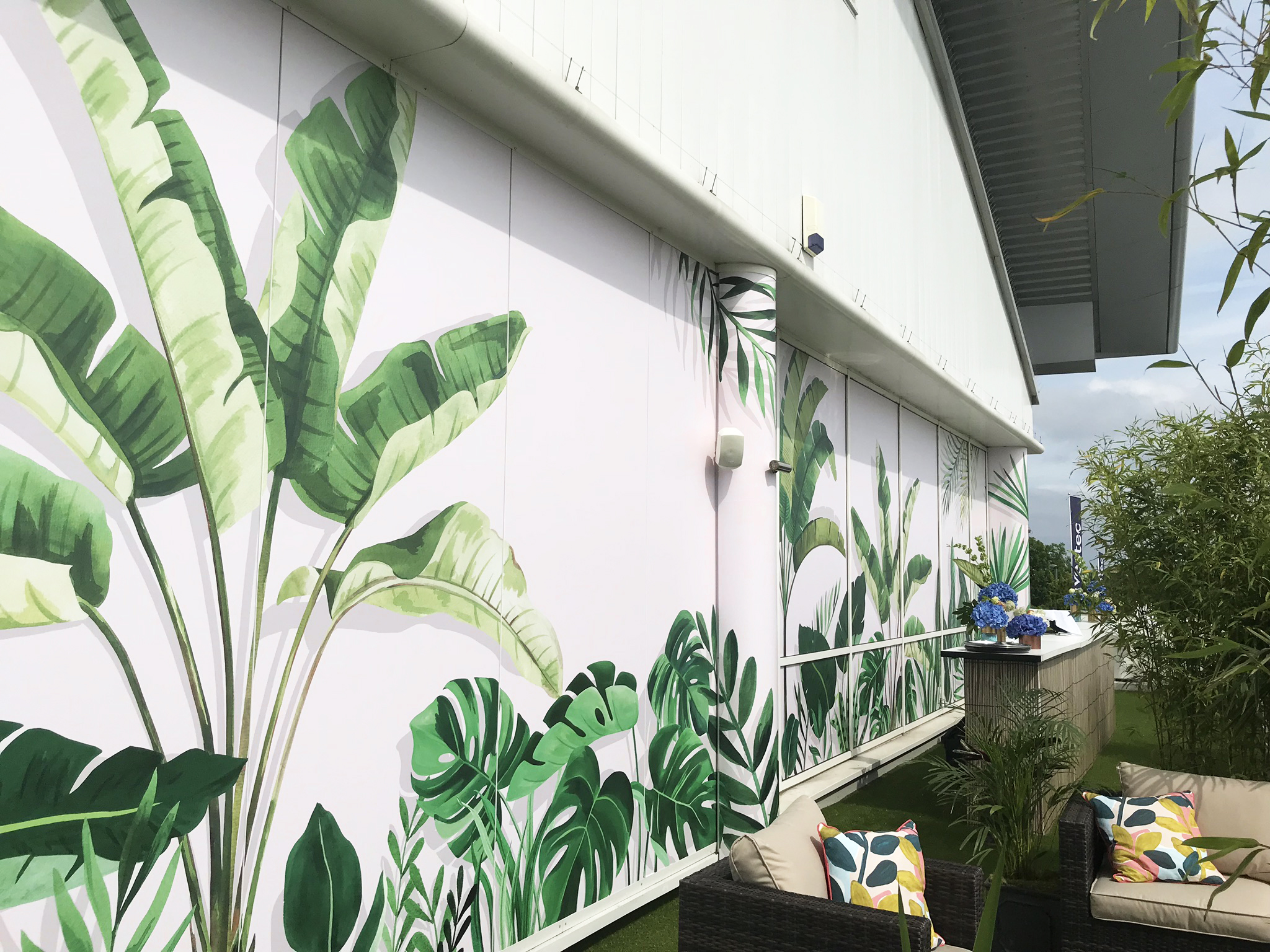 Investec Derby Mural by Bella Gomez