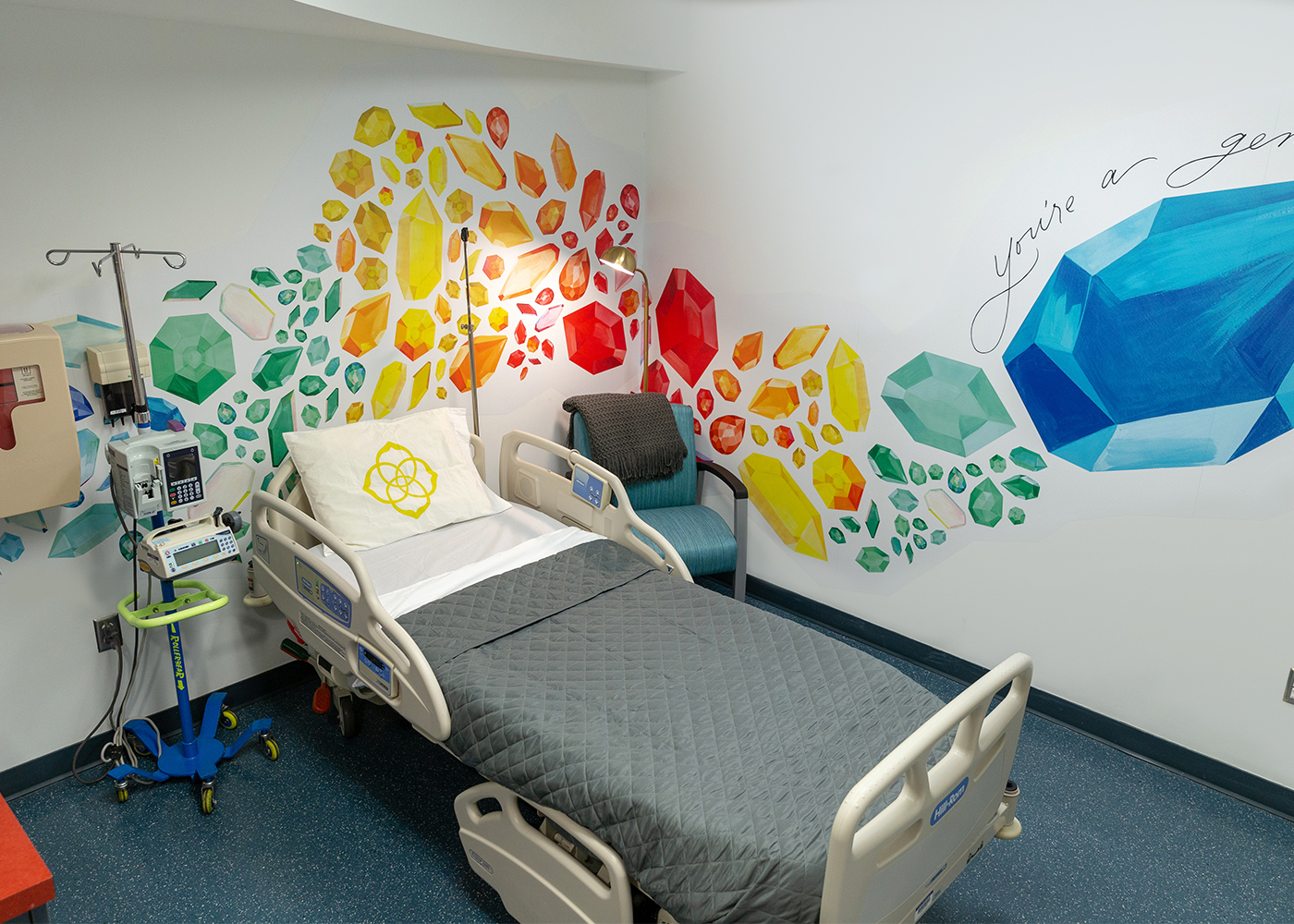 Bella Gomez // Kendra Cares Mural at Dell Children's Centre