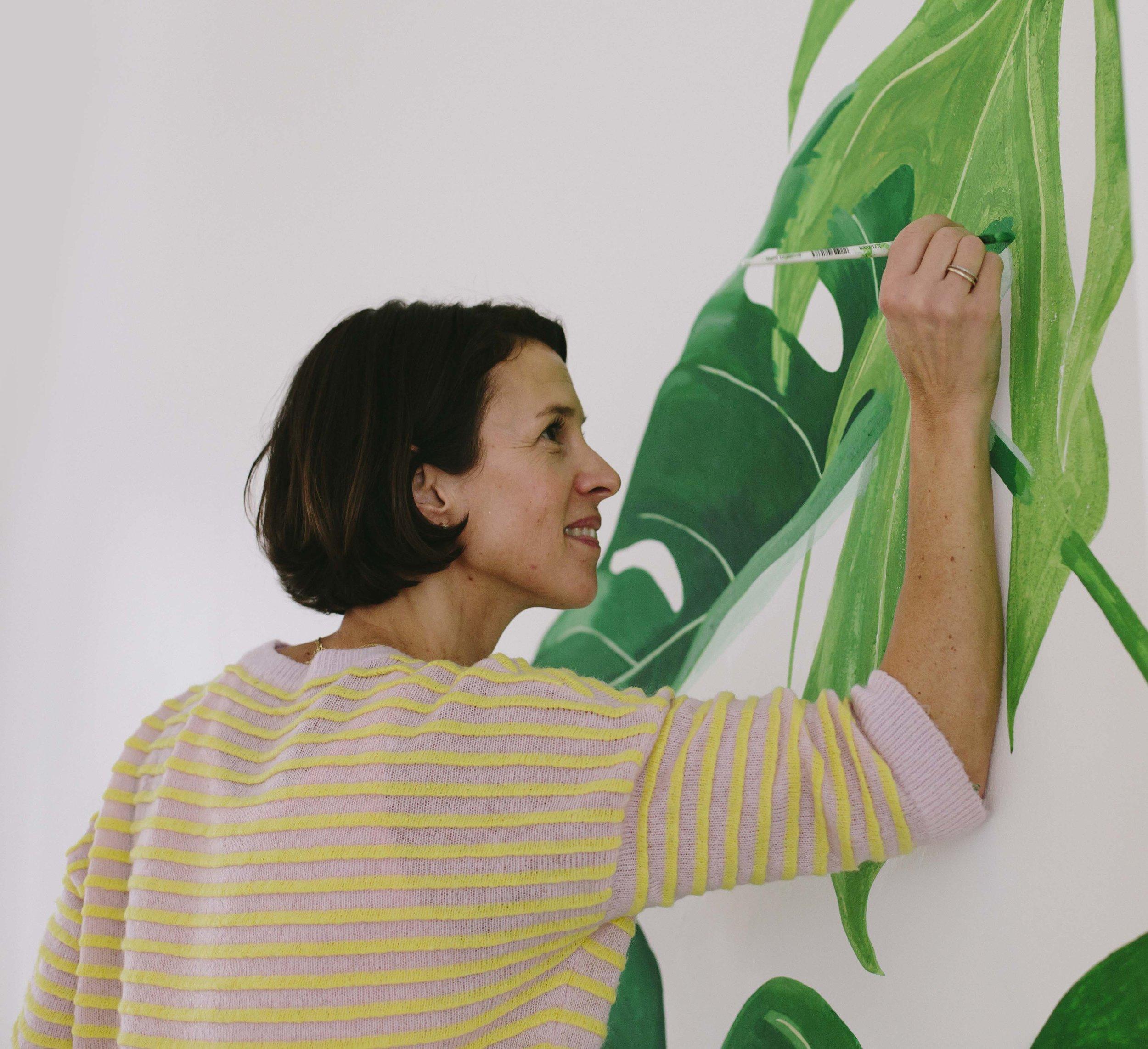 Soulfit Mural Bella Gomez