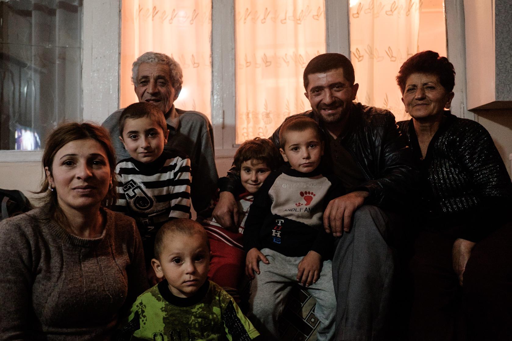 My hosts in Sevan