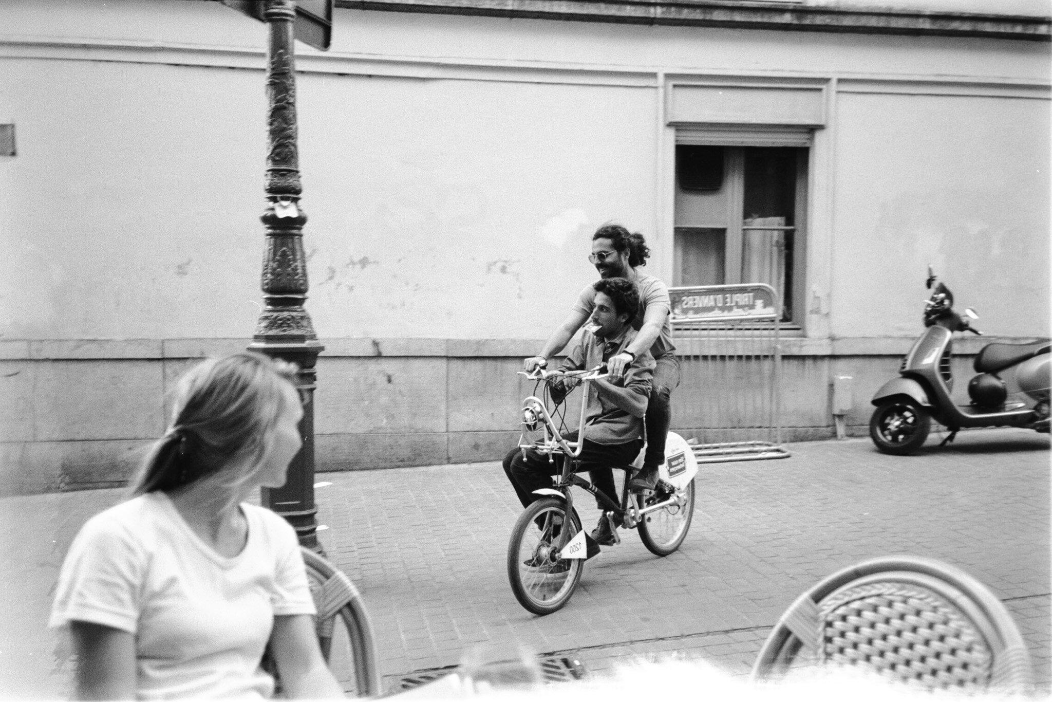 Alberto and Boudi in Antwerp