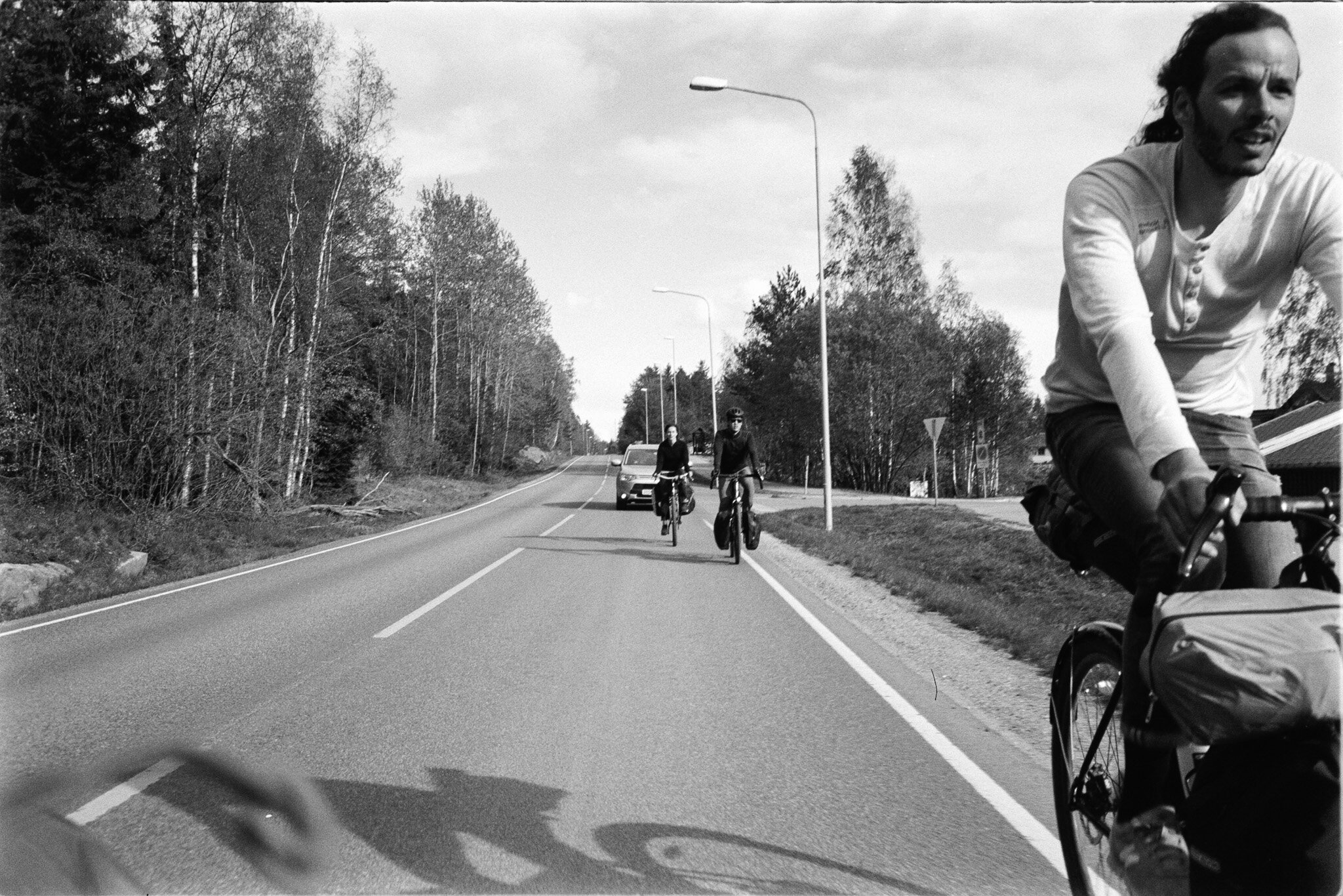 Cycle trip with Jules, Maren and Svein