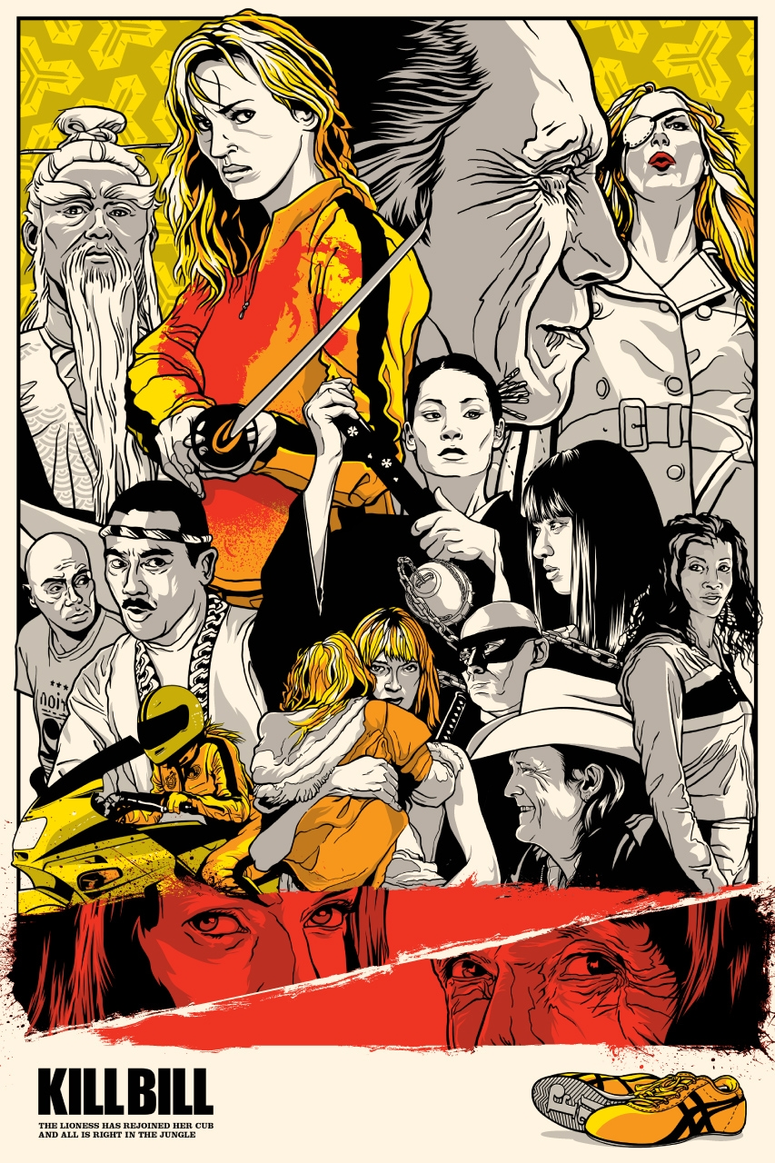 Art-Poster Reservoir Dogs Joshua Budich