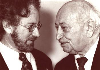 Szymon Wiesenthal i Steven Spielberg