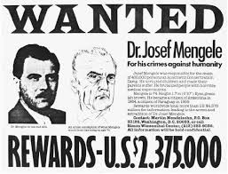 Poszukiwania Josefa Mengele (źródło:  europeanhistoryatloyola.wikispaces.com )