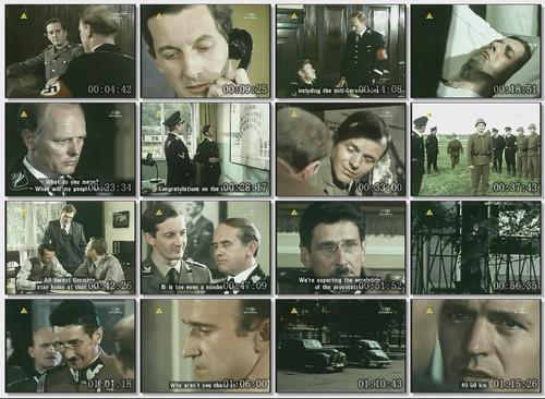 """Kadry z filmu """"Operacja Himmler"""", 1 września 1979 rok (źródło:  http://i.mtime.com/2859432/blog/7467790/ )"""