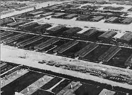 Widok na KL Majdanek z lotu ptaka (źródło:  holocaust3.blogspot.com )