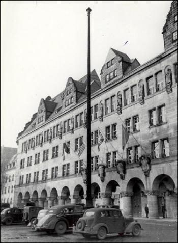 Palace of Justice, Nuremberg, where Nuremberg trial took place