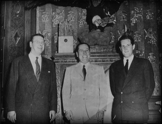 Otto Skorzeny (left)and Juan Domingo Peron, Buenos Aires, 1954 (source:  http://www.taringa.net/posts/imagenes/18338264/Juan-D-Peron-y-el-general-de-la-SS-Otto-Skorzeny.html )