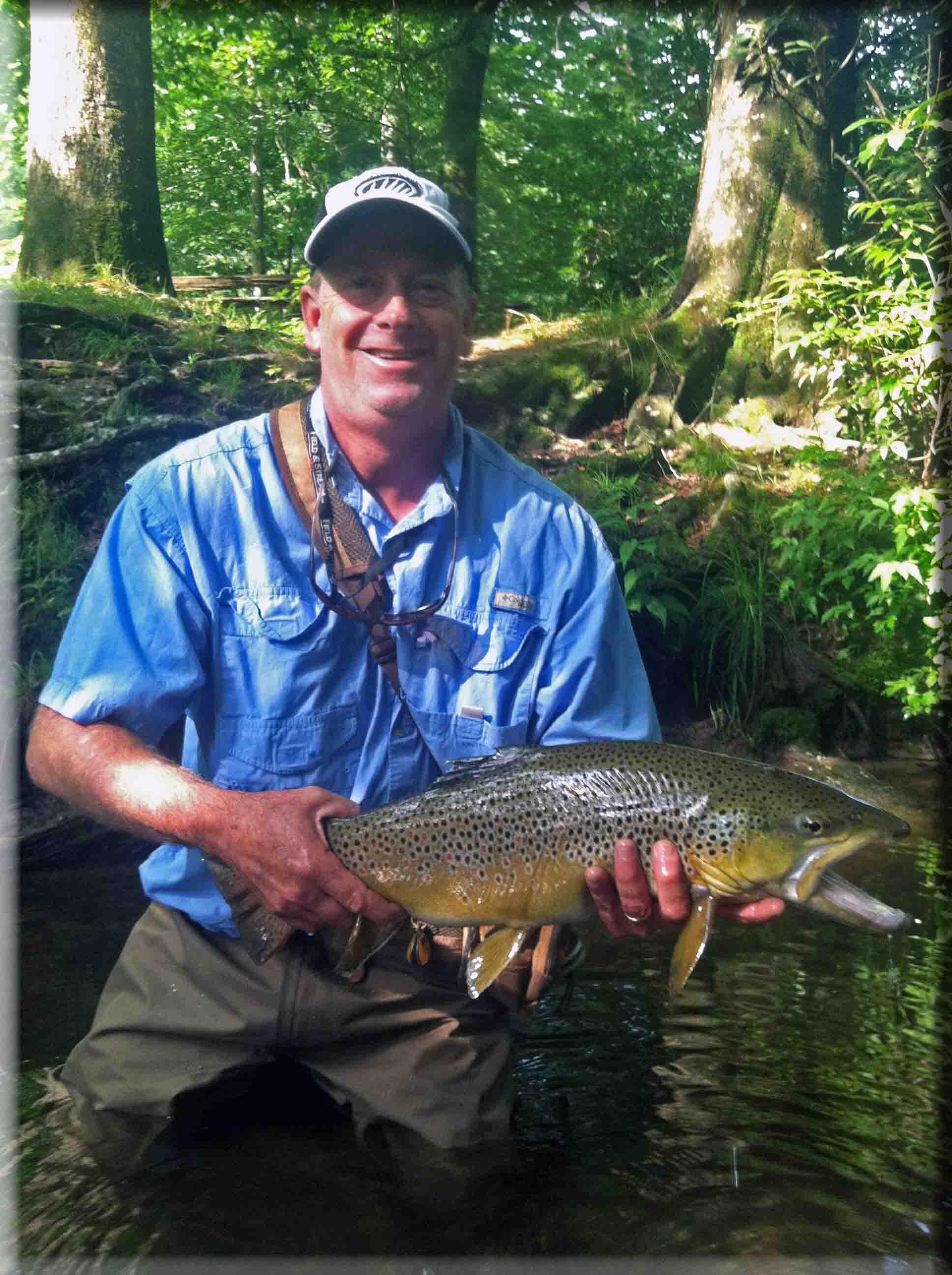 Fly Fishing Davidson River