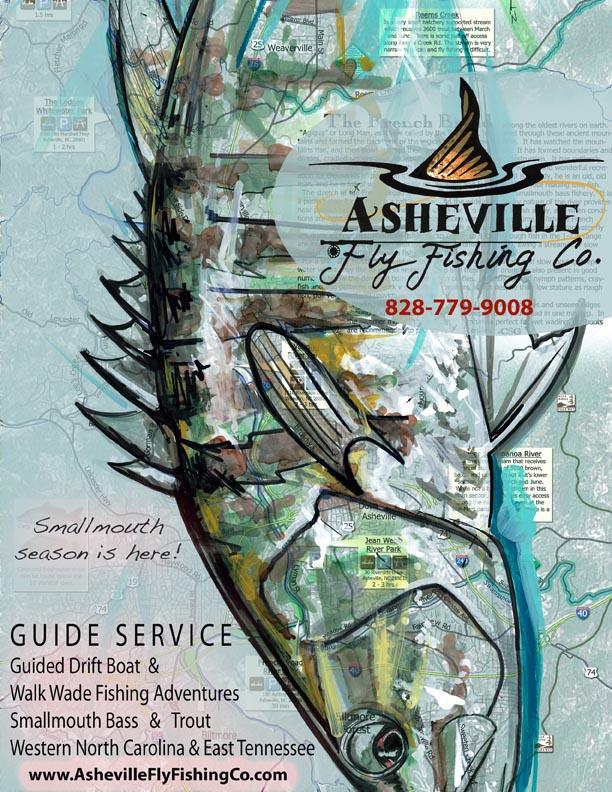 Smallmouth Bass - Asheville Fly Fishing Company