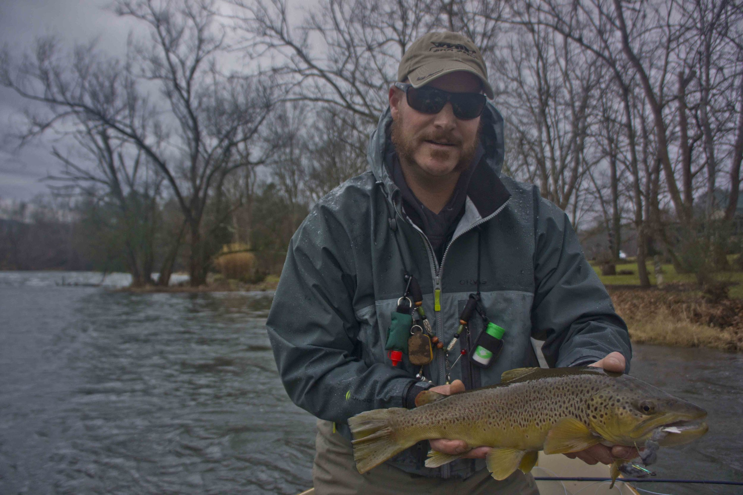South Holston River Guide Trip with Asheville Fly Fishing Co.