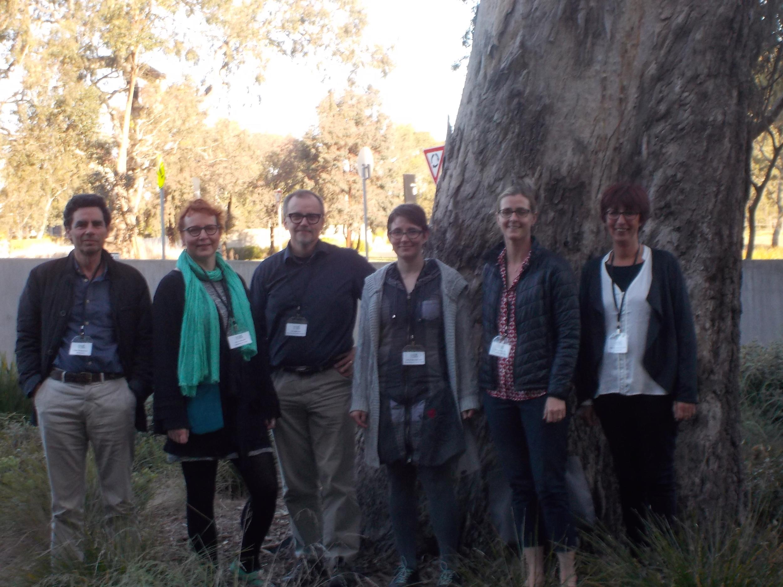 Annual team meeting in Melbourne, Australia.