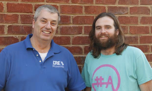 Payton May (right), creative director of Bitsource