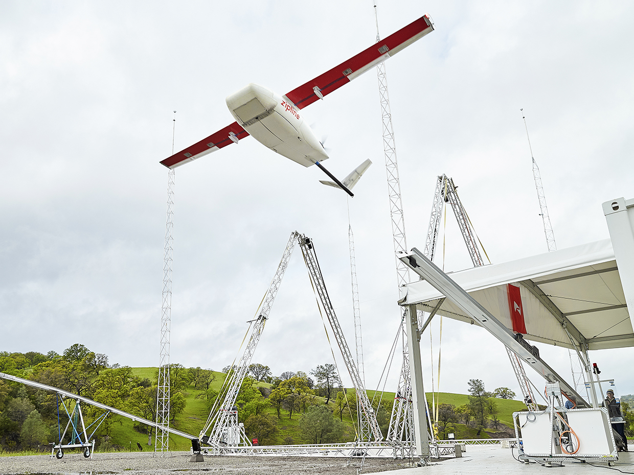 Medical drone deliveries expanded