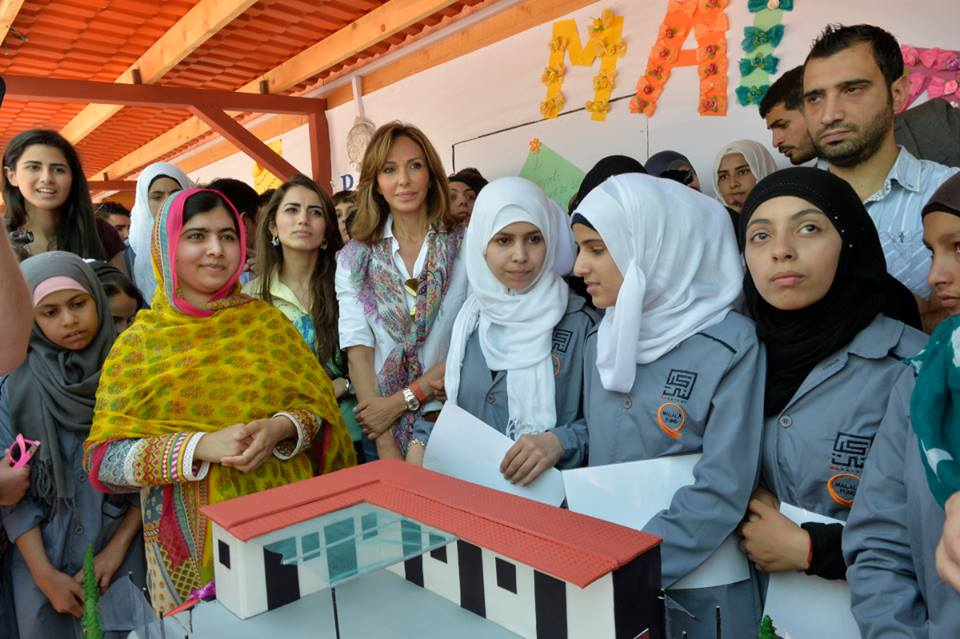 Kayany's latest school in collaboration with Malala Foundation