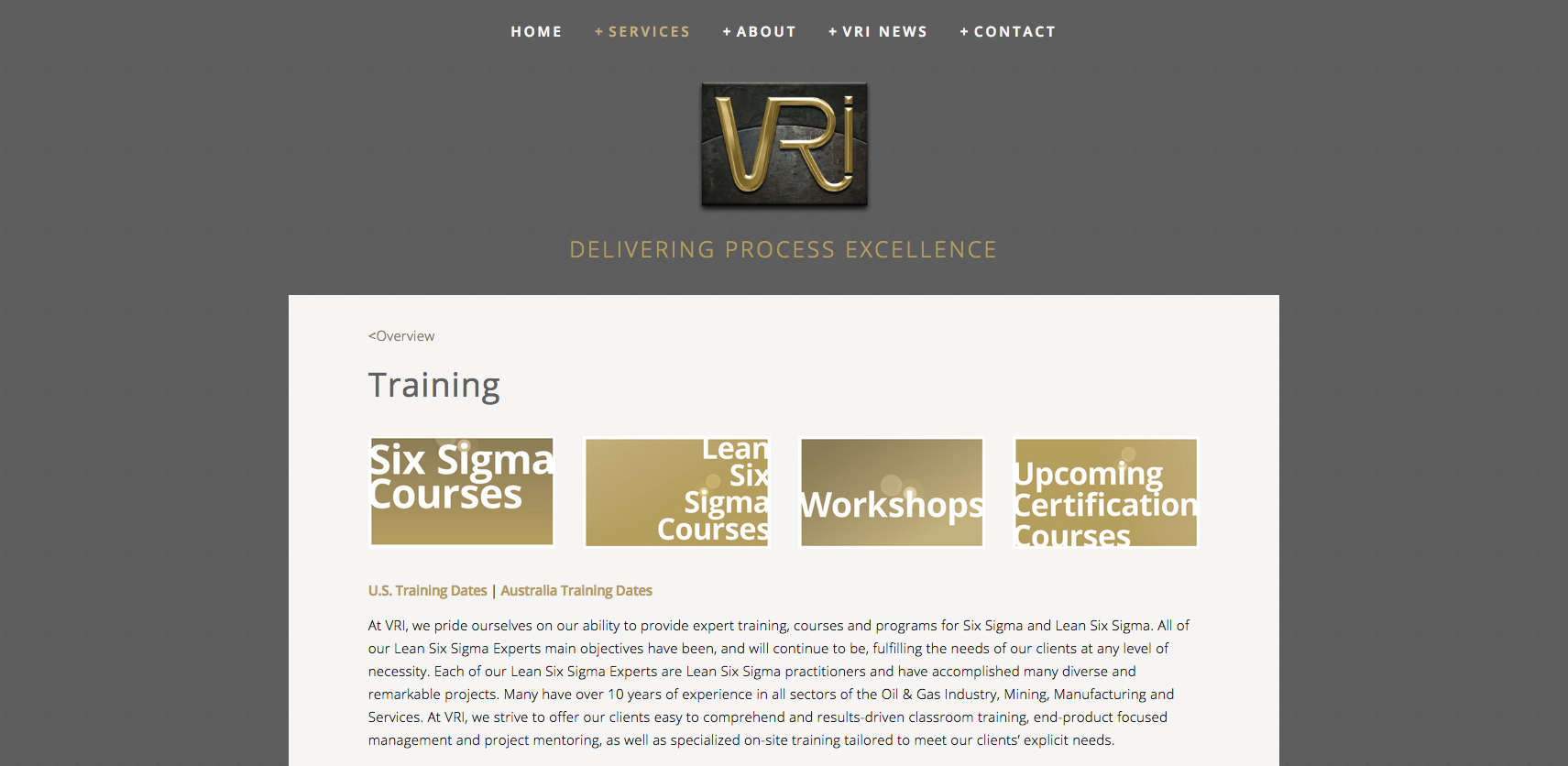VRI Training