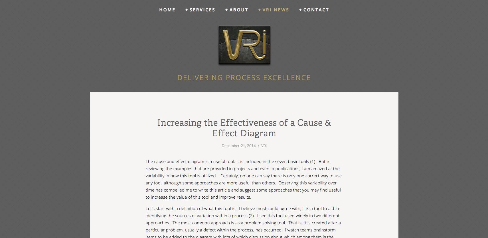 VRI Blog