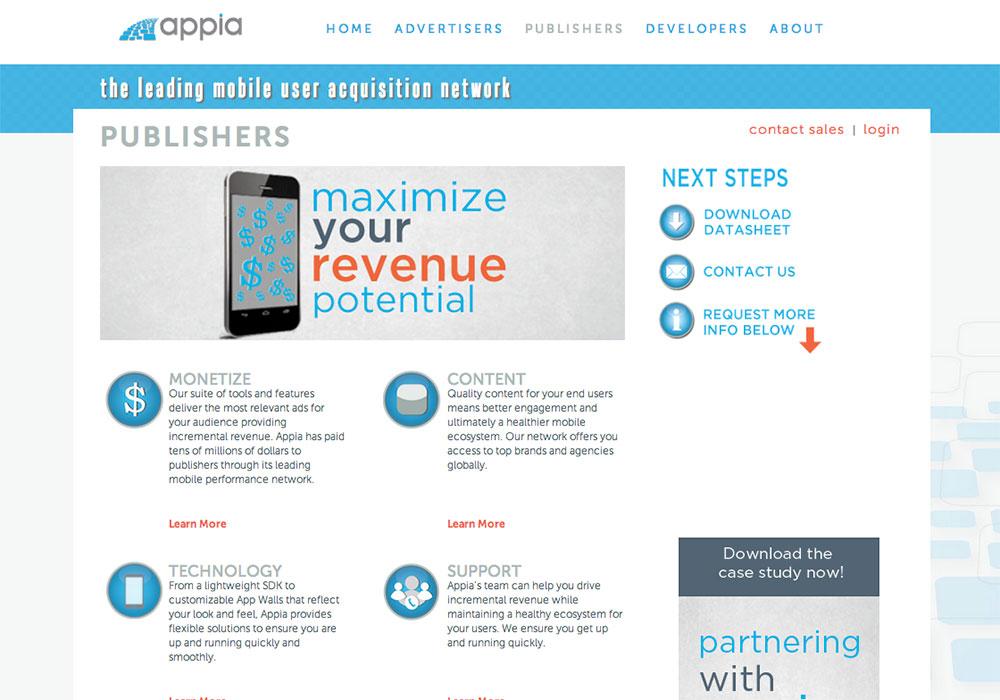 Appia- Older Publishers design