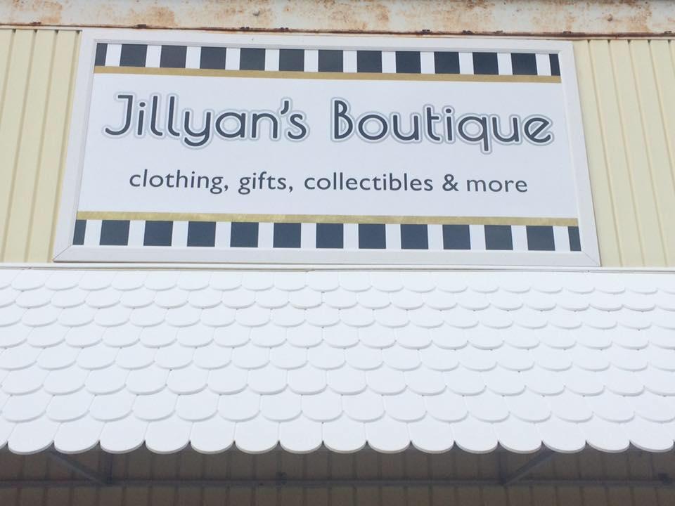 Jillyan's Sign Installed