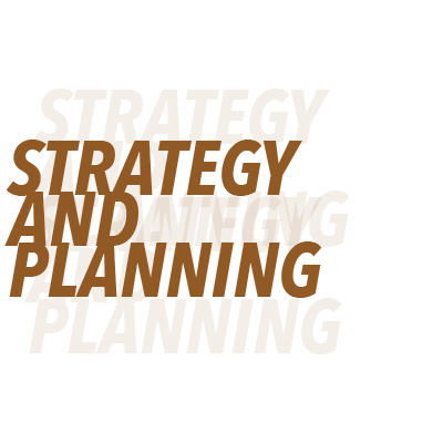 Strategy and Planning - This consists of research and analysis of your company, your competitors and the trends of your marketplace. All of these will play a roll in what your brand will look like, what it will aim to accomplish and the overarching feel of your company. The brand standing and message is where this strategy and planning is implemented first but this also is a huge part of film, web, print and SEO.