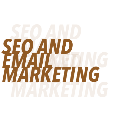SEO and Email Marketing - We strive for websites that are able to be found and marketing that reaches out to the customers in an engaging fashion. This puts even more research behind each strategy and game plan.