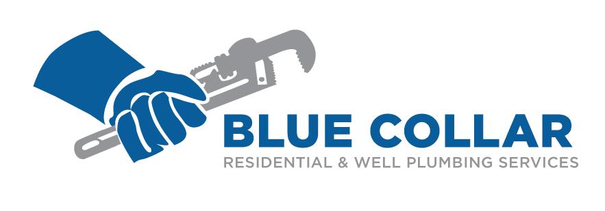Final logo for Blue Collar Plumbing