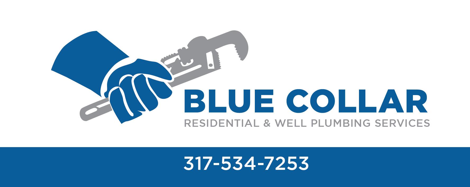 Facebook Cover Photo of Blue Collar Plumbing Brand