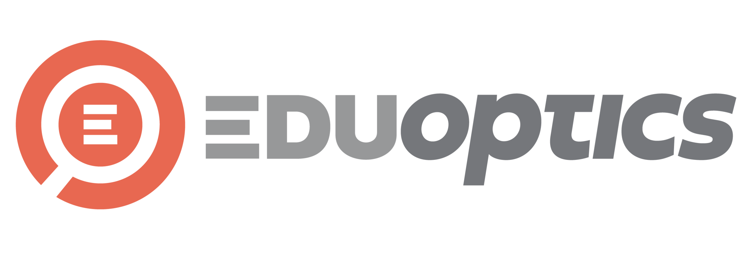Final logo for EduOptics