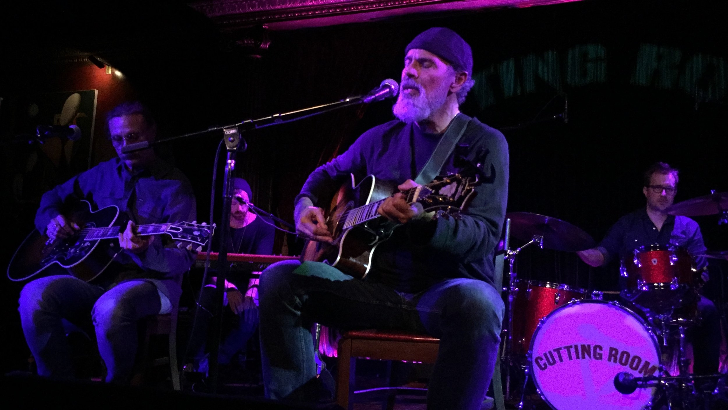 Bruce Sudano on stage at The Cutting Room.