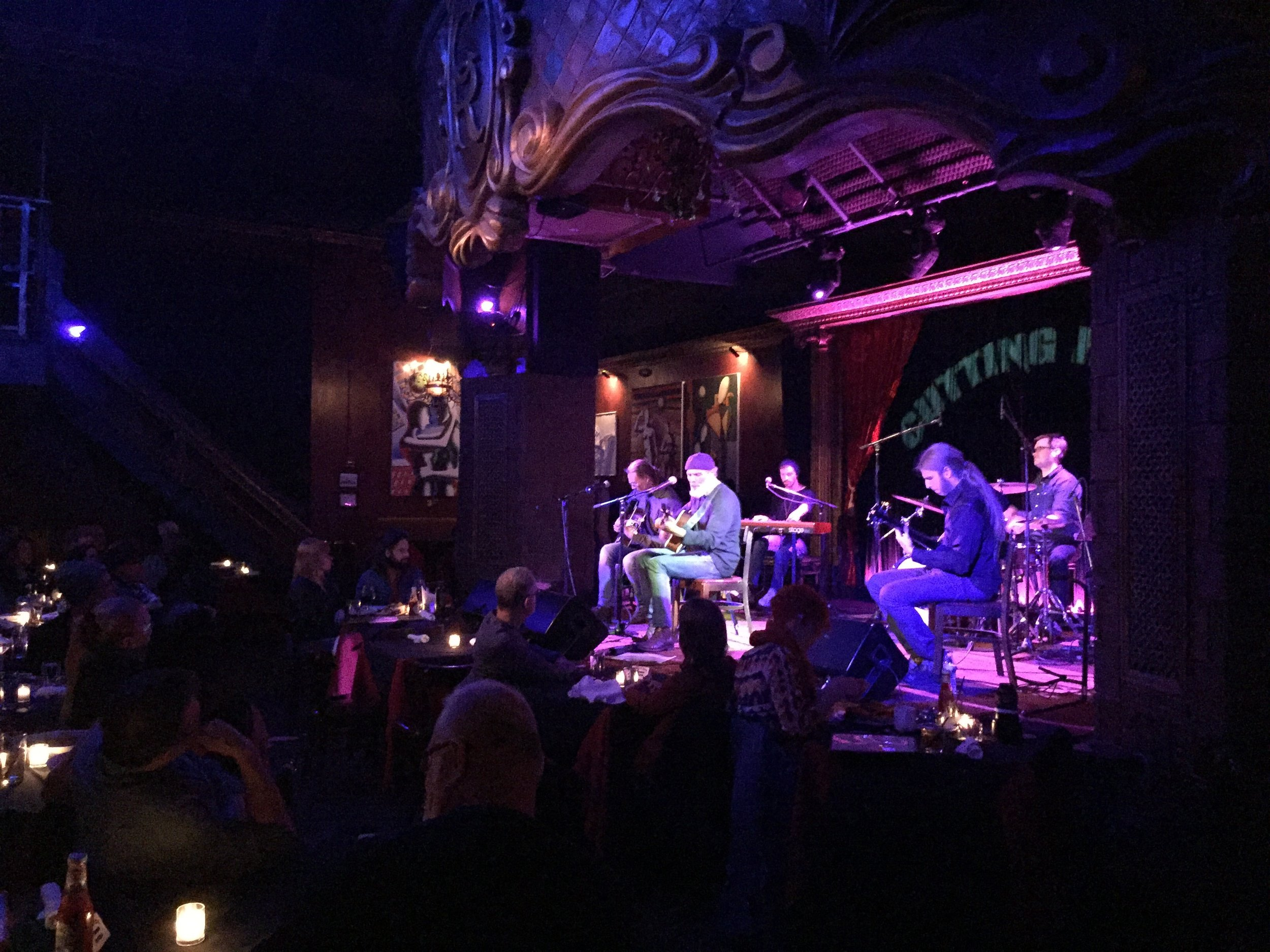 "Bruce Sudano performs ""21st Century World"" at The Cutting Room"