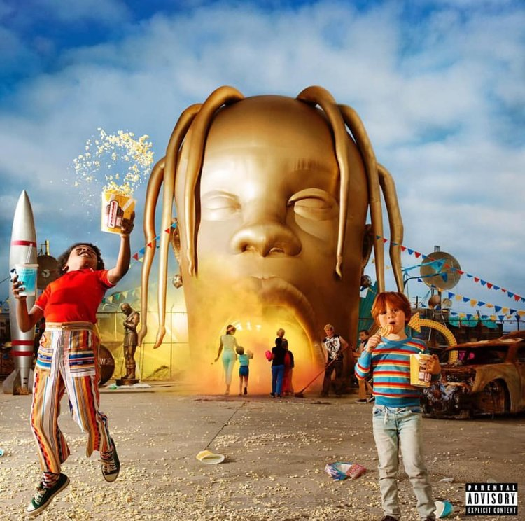 226cd60d7827 Travis Scott Ascends On His Own Psychedelic Musical Carnival With