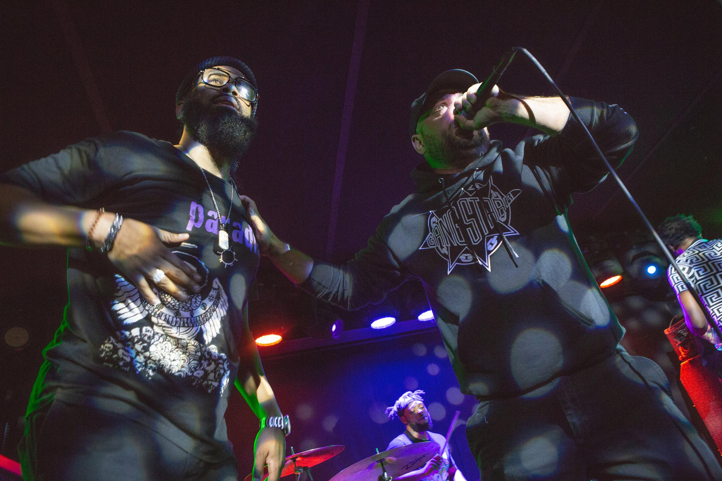 The Lesson GK live at Mercury Lounge. Photo courtesy of Sergio Carrasco.