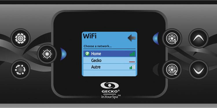 Wifi settings - in.k500 keypad - Gecko Alliance