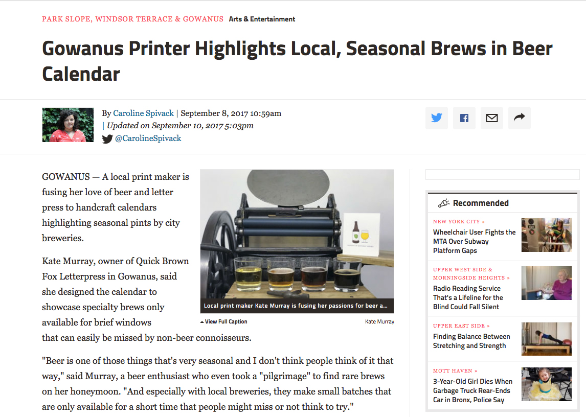 beer kickstarter press - When working on my most recent Kickstarter, I was super excited to becovered by DNA info . Check out the link to see more info!