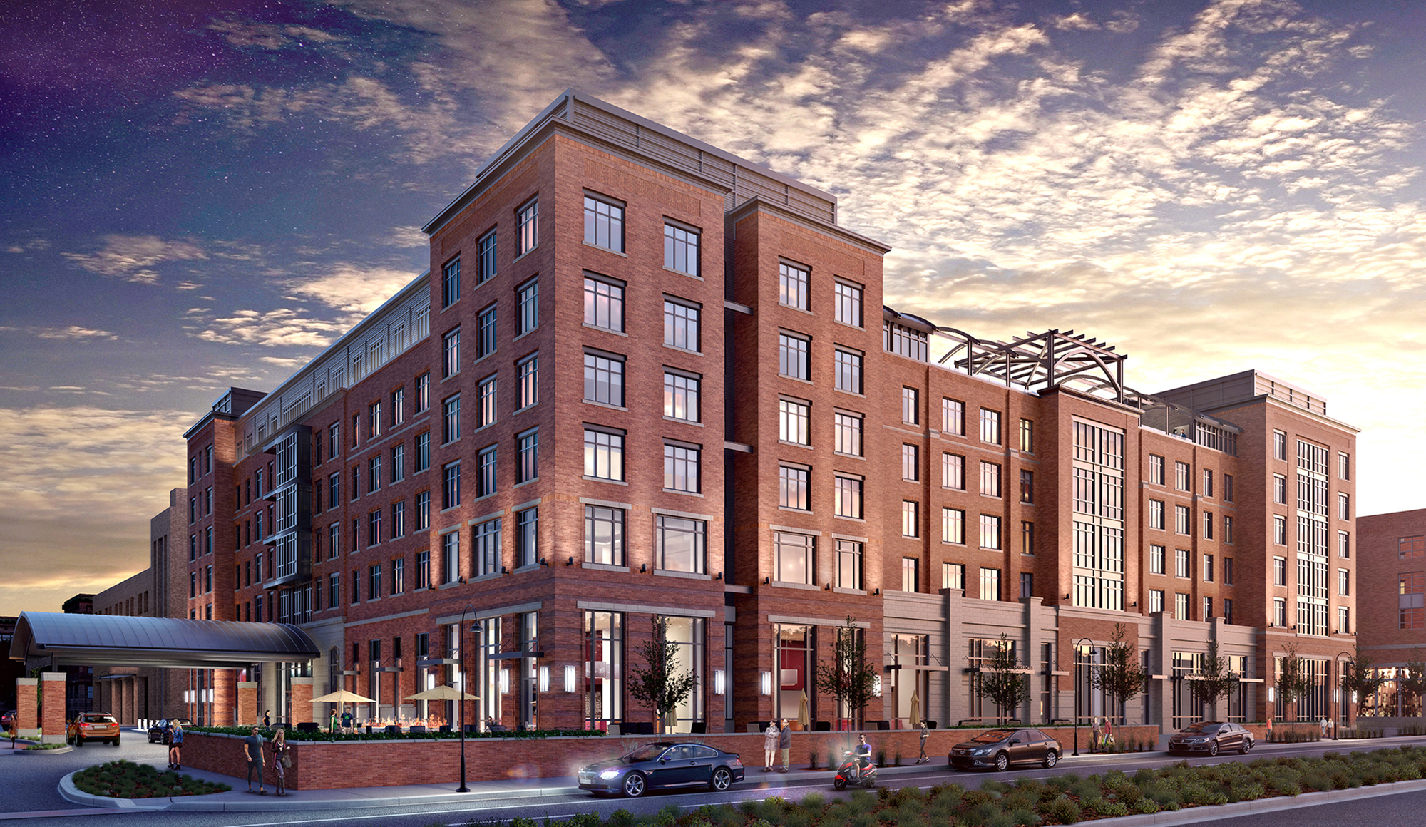 Embassy Suites Hotel - Opening Fall 2018