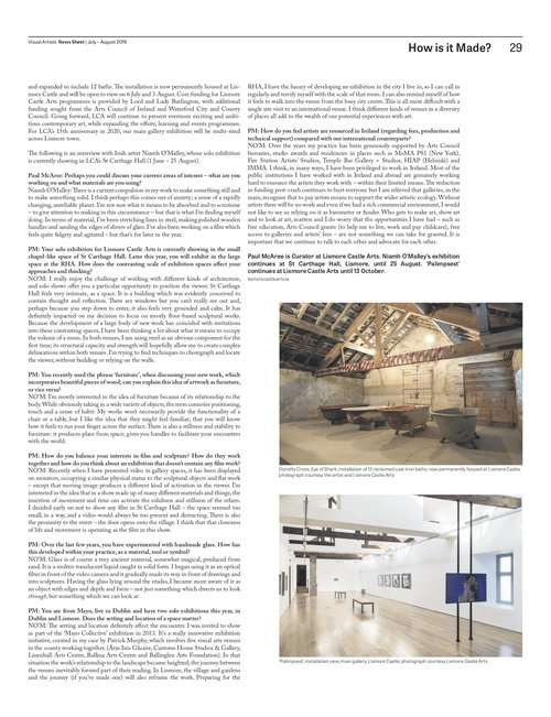 niamh o'malleyNiamh O'MalleyArtforum Frieze ArtReview thisistomorrow