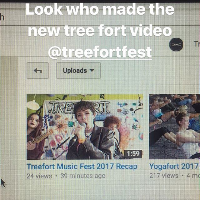 @treefortfest thank you for featuring Us. We are in the video at 1:12. Here is a link to the video http://www.bit.ly/2vHnbS People who helped us get here @rockbandland @cassiopeia.band @gentlespirit0.0 @boiserockschool