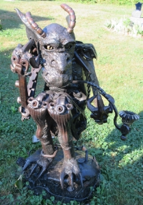 """Contemplation"" by Rocco Caradonna, welded metal"