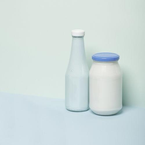 AFTER: Glass jars.